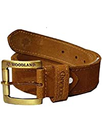 WOODLAND CASUAL GENUIEN LEATHER BELT SIZE 42
