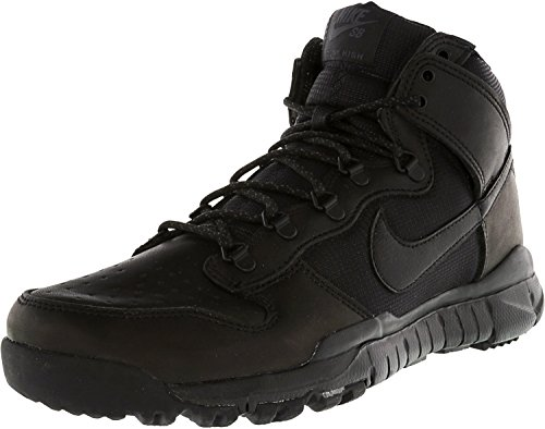 Nike Herren SB Dunk High Boot Skaterschuhe, Schwarz, 38,5 EU -