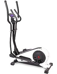 SportPlus - Vélo elliptique / Crosstrainer - Avec Application de contrôle - Google Street View - Mesure puissance Watt - Roue d'inertie de env. 18 kg - 24 Niveaux de Résistance - Capteurs de Pouls - Poids max de l'Utilisateur: 130 kg - Sécurité testée