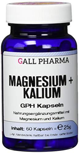 Gall Pharma Magnesium plus Kalium GPH Kapseln 60 Stück - Kalium Plus Magnesium