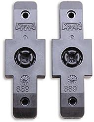 4 x MAGURA Bremsgummi schwarz hydraulische Felgenbremse HS-11 HS-33 original