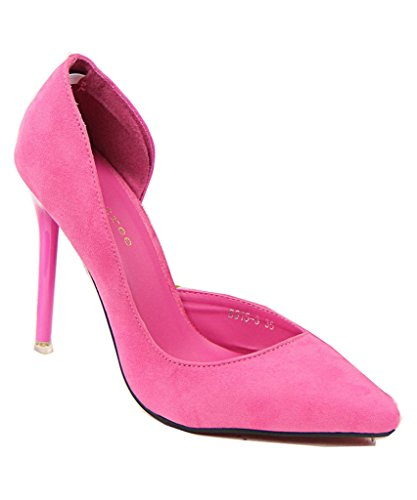 mineroad-womens-lady-sexy-elegant-simple-faux-suede-high-heel-pointed-toe-pump-court-shoes-rose-uk-4