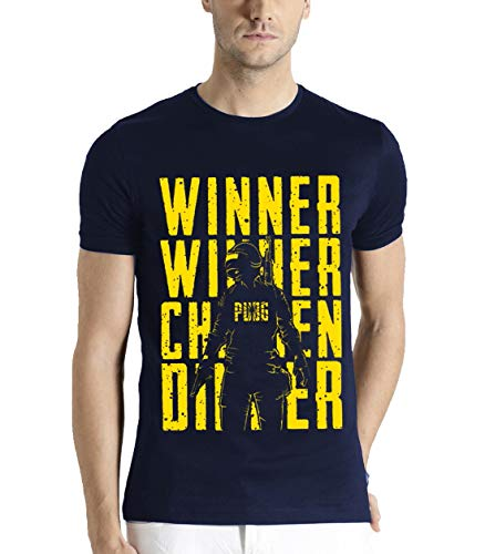 ADRO PUBG Fan Printed Cotton T-Shirt