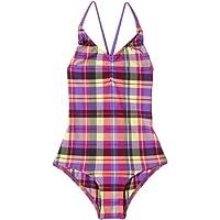 PUMA Mädchen Badeanzug Girls Check Swim Suit