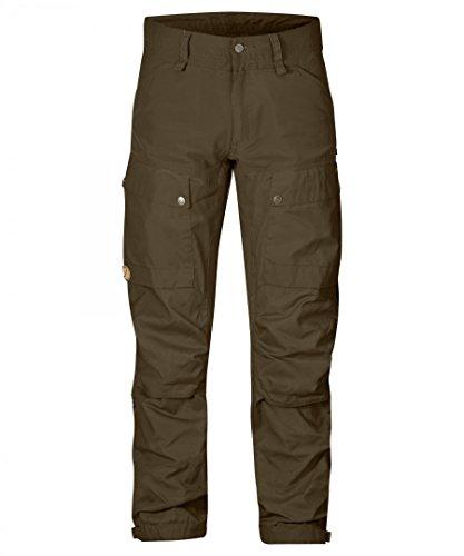 Fjällräven Keb Trousers Long Pantaloni Lunghi Khaki Brown
