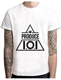 f98e8e7152c96 Kpop Produce 101 t Shirt Men Anime T-Shirt Men Tops boy Short Sleeve t