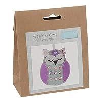 Trimits Make Your Own Spring Owl Felt Decoration Kit