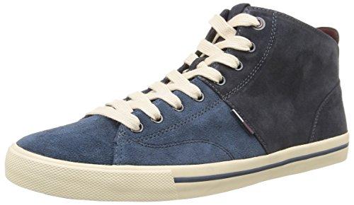Tommy Hilfiger Varsity 3B, Sneaker, Uomo, Blu (284), 43