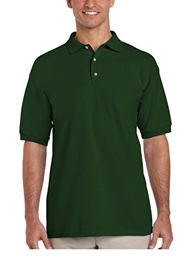 Gildan Ultra Cotton Pique Polo Shirt Grün - Waldgrün