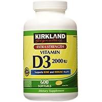 Kirkland Signature Vitamin D3 2,000 IU - 600 Caps