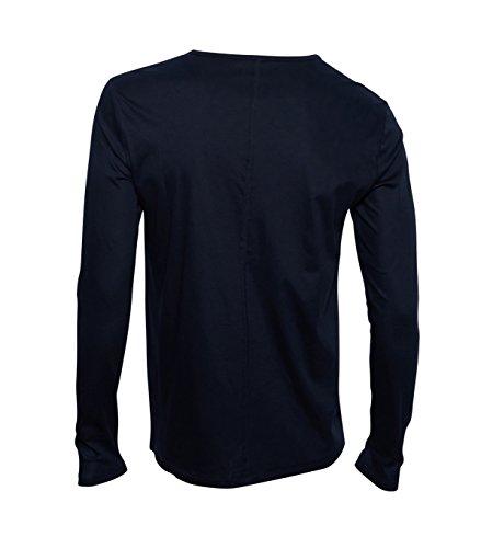 KIEFERMANN Herren Shirt Kirk in Dunkelblau 379 dk navy