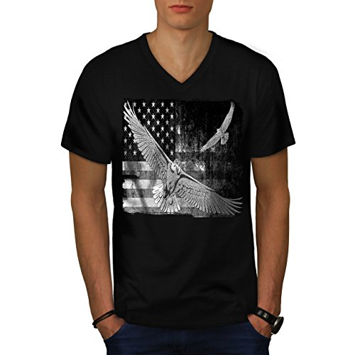 american-eagle-flag-us-falcon-men-new-black-l-v-neck-t-shirt-wellcoda