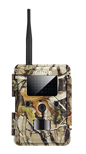 MINOX DTC 1100 Wild- und Überwachungskamera Camouflage - Outdoor-Kamera mit Multifunk-Datenübertragung der Videoaufnahmen, Farbaufnahmen und Schwarz-Weiß-Nachtbilder -