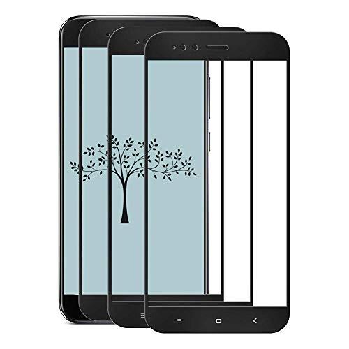 Cafwly 3 Unidades Protector de Pantalla para Xiaomi Mi A1 / 5X,Cristal Templado para Xiaomi Mi A1 / 5X [Alta Definicion] [Arañazos Resistente][Fcil de Instalacin]