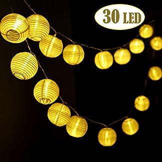 IREGRO-Lichterkette-Auenbeleuchtung-Laternen-Auen-Garten-Lichterkette-fr-Weihnachten-Party