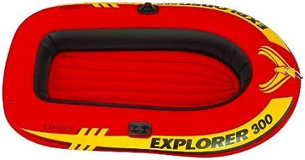 Intex Inflatable Explorer 300 Boat, Multi Color