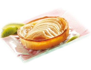 VALPIBIO - Tartelettes aux pommes BIO / Sans gluten - 2 x 100 g - Surgelé