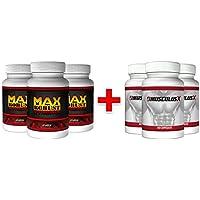 2+ 1 Maxrobust Xtreme & 2+1 Musculus X, Spezialpaket für Muskelaufbau und Testosteronschub