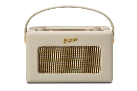 Roberts Radio Revival iStream 2 Poste radio style rétro avec connexion DAB+/FM/Spotify/USB + webradio via WiFi Crème pastel
