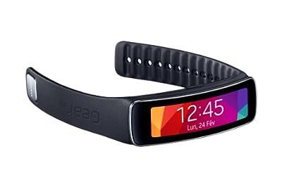 SAMSUNG Galaxy Gear Fit - Montre connectée Noire