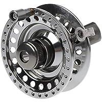 JERKKY Carrete para Pesca en Hielo Mano Derecha Aleación de Aluminio Ultraligero Full Metal Profesional Rueda de Invierno Spinning 1: 1 Tackle Accesorios 60#