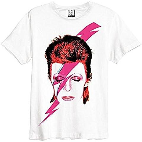 David Bowie - Camiseta - Cuello redondo - Hombre