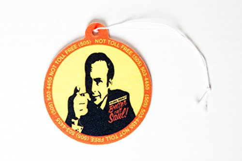 Preisvergleich Produktbild Better Call Saul Air Freshener- inspired by Breaking Bad and Better Call Saul Shows