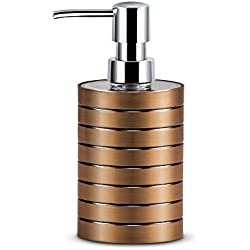 Freelance Miami Polystyrene Soap Dispenser, Shower Lotion, Gel, Conditioner, Liquid Shampoo Pump, Copper