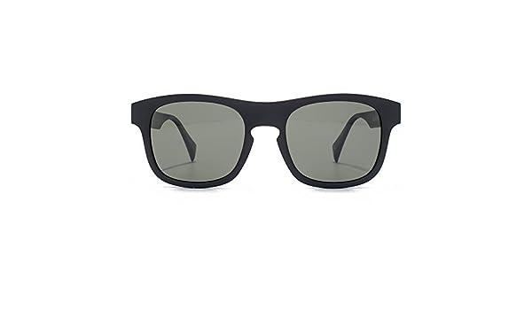 877f15e1a2ca EYEYE By Italia Independent Keyhole Wayfarer Sunglasses in Black IS013 009  000 52 Green: Amazon.co.uk: Clothing