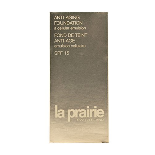 La Prairie Anti-Aging Foundation SPF 15 unisex, Foundation 30 ml, Farbnummer: 600, 1er Pack (1 x 0.175 kg) (Anti-aging 30 Foundation Spf)