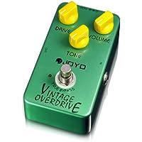 Joyo JF-01Vintage Overdrive–Pedal de efectos para guitarra