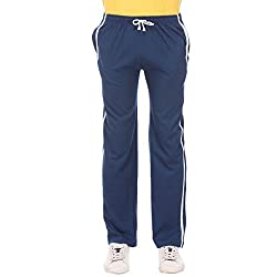 TeesTadka Men Cotton Track Pant (TRK ROYAL 30_XXL_Grey_XX-Large)