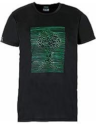 erima Herren T-Shirt Print Feel Green