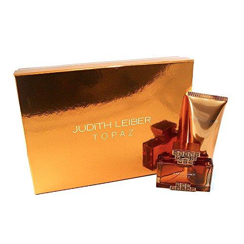 Judith Leiber Topaze 2 PC Coffret cadeau (eau de parfum Vaporisateur 36,9 gram + lotion pour le corps 96,4 gram) pour femme