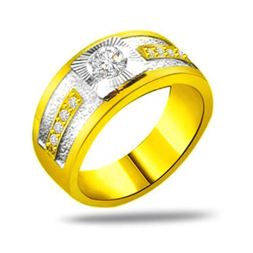 SURATDIAMOND Surat Diamond 18K Yellow Gold Diamond Ring