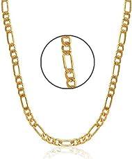 Farraige Latest New Design Gold Plated Chain For Boys & Men