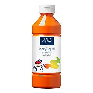 Lefranc & Bourgeois - Pintura acrílica líquida, 500 ml, color naranja