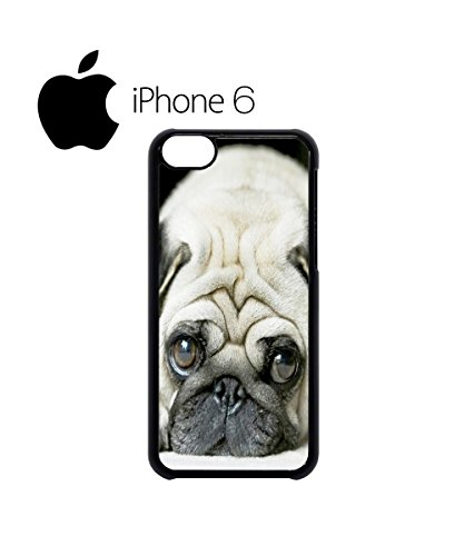 Pug Life Cute Doggie Grumpy Swag Mobile Phone Case Back Cover Hülle Weiß Schwarz for iPhone 6 White Schwarz