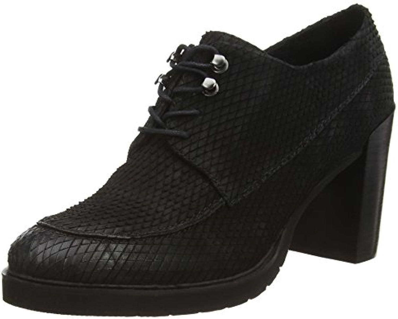 Bruno Premi D3705G - Zapatos con Cierre Al Tobillo de Piel Mujer -