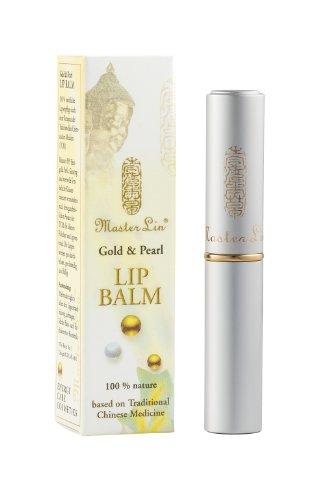 Master Lin Gold & Pearl Lip Balm, 1er Pack (1 x 3 g) - Ginseng-perle
