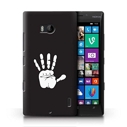 Stuff4® Hülle/Case für Nokia Lumia Icon/Weiße Hand Isengard Muster/LOTR Fantasie Inspiriert Kollektion (Nokia Lumia Icon Weiß)