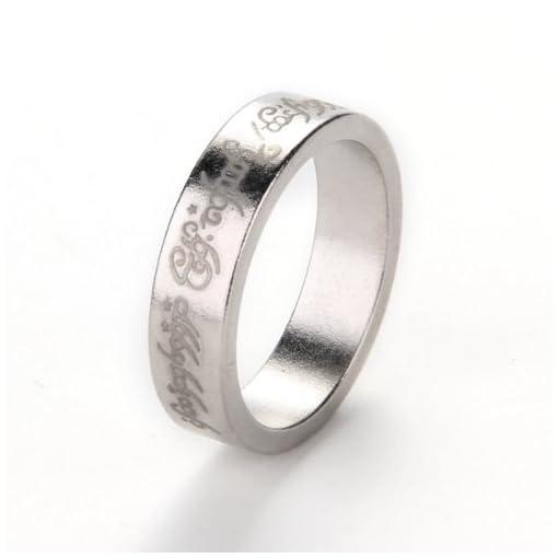 1-x-Magnetisch-Ring-Ringe-Magic-Magnetring-Zauberartikel-Zaubertrick-Silberfarbe