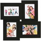 Pêle-Mêle Etoile pour 4 photos 10x15 - noir