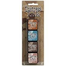 Distress Tim Holtz Mini Kit de almohadillas de tinta 5,
