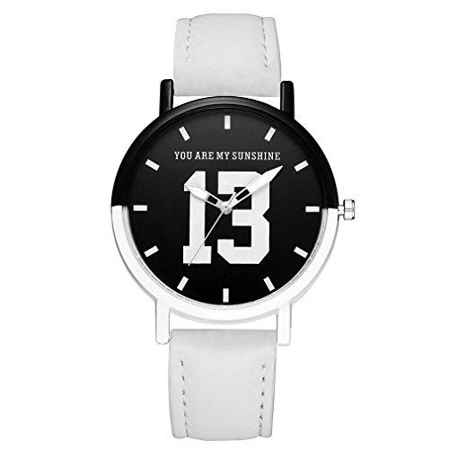 Yesiidor Armbanduhr Damen Frauen Einfach Zeitlos Ultra-flach Uhr Uhren