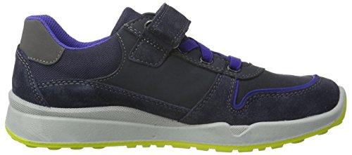 Superfit STRIDER 700316, Jungen Sneakers, Blau (OCEAN KOMBI 81) Blau (OCEAN KOMBI 81)