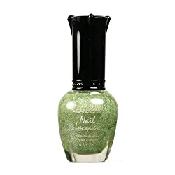 Kleancolor Nail Lacquer Holo Green 136