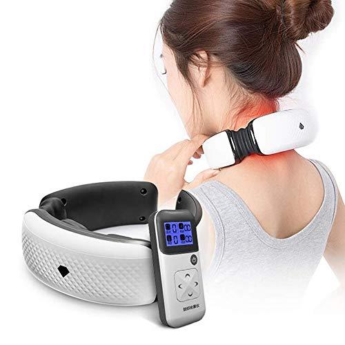 GCCLCF Massaggiatore cervicale Wireless Remote termostatico moxibustione Pulse Multifunzionale Neck Back Strumento Massaggio [energia Classe A]