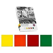 Cokin Ensemble de 4 Filtres Taille L Noir/Blanc