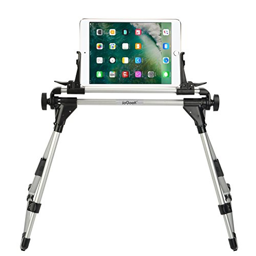 Tablet Halterung Ständer , ieGeek iPad Ständer Handyhalter Desktop-Ständer Halter Sofa Bett Tablet Ständer Flexibel Winkel verstellbar für iPhone 7/6/6S Plus, iPad Mini iPad 2/3/4, iPad 5/iPad Air, Samsung Galaxy Tab S2/Tab A/Tab Pro/Tab 3, Google Nexus, Kindle, 1.2-10.2